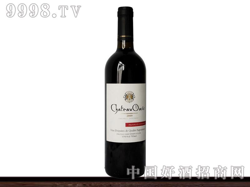 法国波尔多奥森干红葡萄酒2009