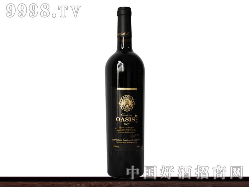 法国波尔多奥森干红葡萄酒2007