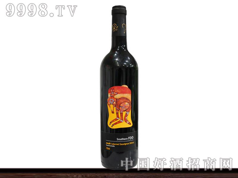 澳洲袋鼠赤霞珠干红葡萄酒