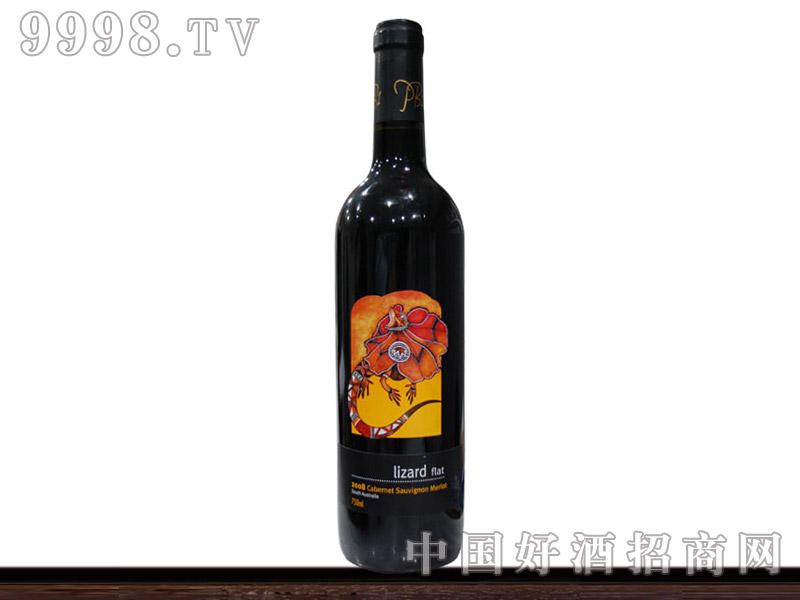 澳洲蜥蜴西拉干红葡萄酒