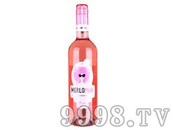 梅洛桃红甜型果味酒