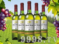 双狮干白葡萄酒