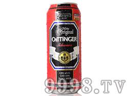 奥丁格黑啤500ml