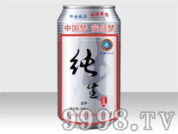 安岛纯生风味熟啤酒8°P