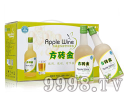 方砖金发酵型青苹果酒