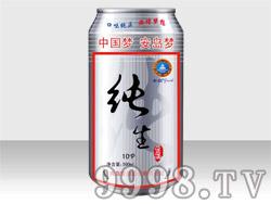 安岛纯生风味熟啤酒10°P