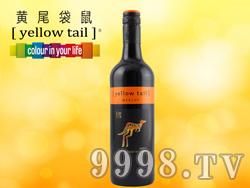澳洲黄尾袋鼠梅洛红酒