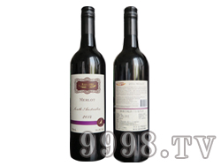 (海狮)澳赛诗2014梅洛干红葡萄酒