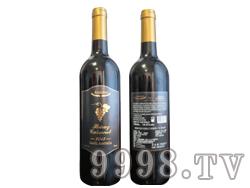 (葡萄)澳赛诗2013西拉子赤霞珠干红葡萄酒