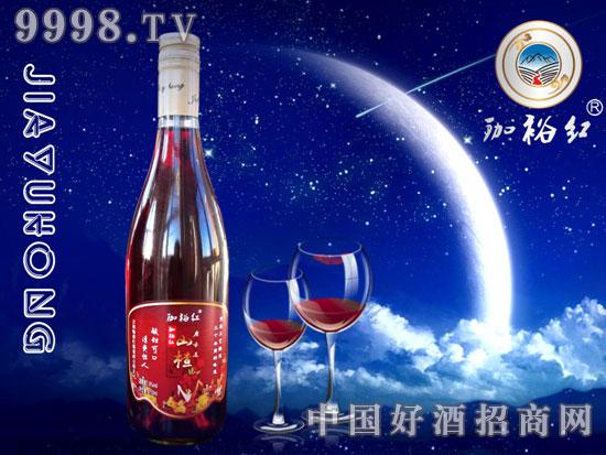 珈裕红山楂酒750毫升