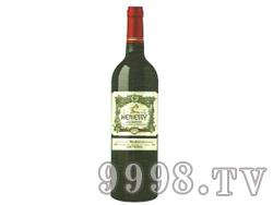 轩尼斯庄园梅洛红葡萄酒