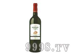 轩尼斯庄园美乐红葡萄酒