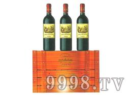 玛卡拉菲城堡波特红葡萄酒6支装