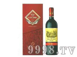 玛卡拉菲城堡朱利安红葡萄酒板盒