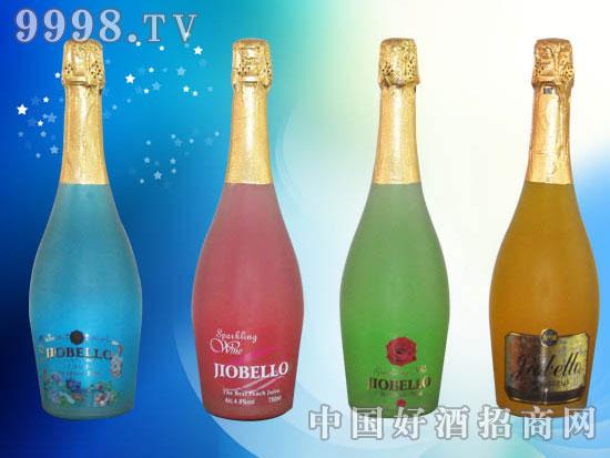 高泡鸡尾预调酒(蓝玫瑰、水蜜桃、青柠、香橙)