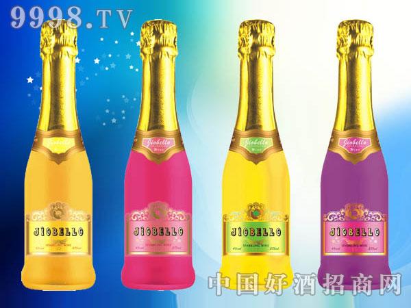 高泡鸡尾预调酒(苹果、水蜜桃、香橙、蓝莓--275ml)