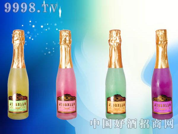 高泡鸡尾预调酒(香橙、水蜜桃、青柠、蓝玫瑰)
