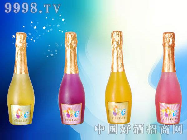 高泡鸡尾预调酒(苹果、蓝莓、香橙、水蜜桃)