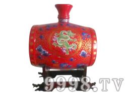 腰鼓坛子酒(红)