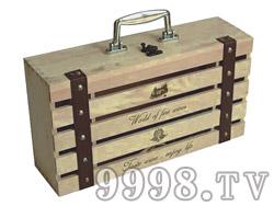 BZ005 双只装木盒