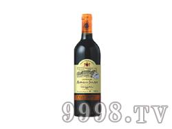 法国阿尔诺城堡 干红葡萄酒