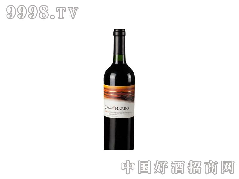石头之神混酿老藤干红葡萄酒