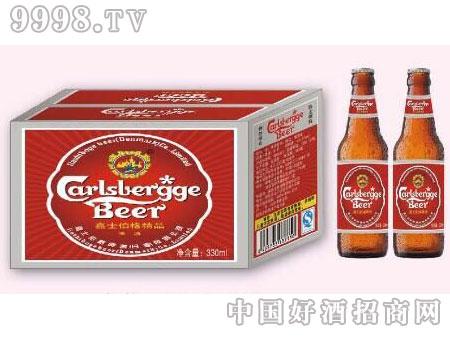 嘉士伯格啤酒红瓶330ml