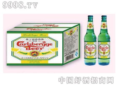 嘉士伯格精品黄瓶330ml