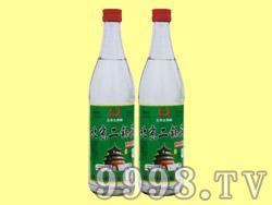 北京二锅头酒陈酿绿标