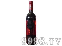 西雅斯酒庄野玫瑰酒(红标)