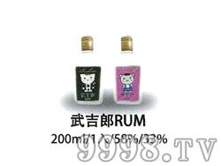 武吉郎RUM酒200ml