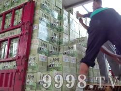 德谷鲜啤装车现场(卸货)