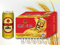 珠汇啤酒500ml×24罐红箱