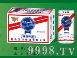 国科特制啤酒320ML24罐(易拉罐装)