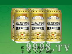 国科小麦王啤酒320ML6塑包(易拉罐装)