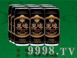 黑啤10度啤酒(易拉罐装)