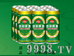 国科特制8度啤酒(易拉罐装)
