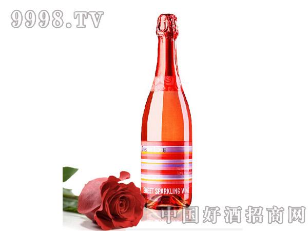 梦恋玫瑰粉红甜型起泡酒