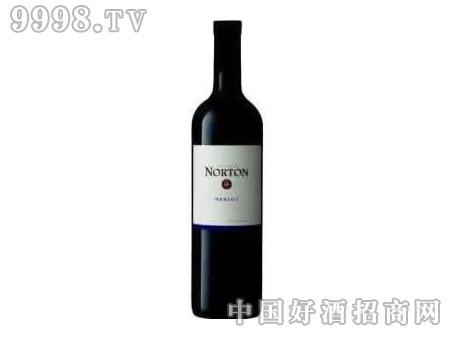 诺顿庄园白标梅洛红葡萄酒