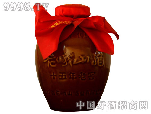 老峨山500ml土坛酒15
