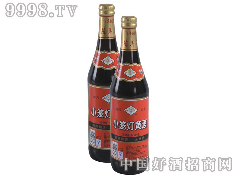 小笼灯黄酒瓶装600ml(纯粮酿造五年陈)