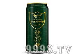 七匹狼啤酒8°500ml易拉罐