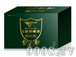 七匹狼啤酒8°320ml易拉罐(外箱)