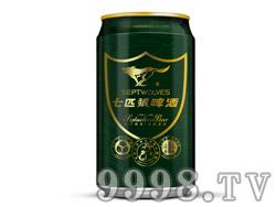 七匹狼啤酒8°320ml易拉罐