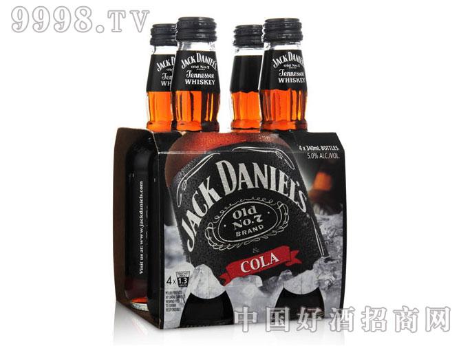 杰克丹尼可乐威士忌(四瓶套装)
