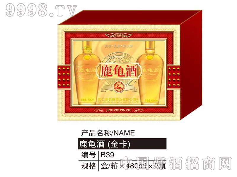 鹿龟酒(金卡)480ML