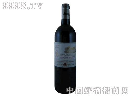 玛休斯男爵超级波尔多红葡萄酒