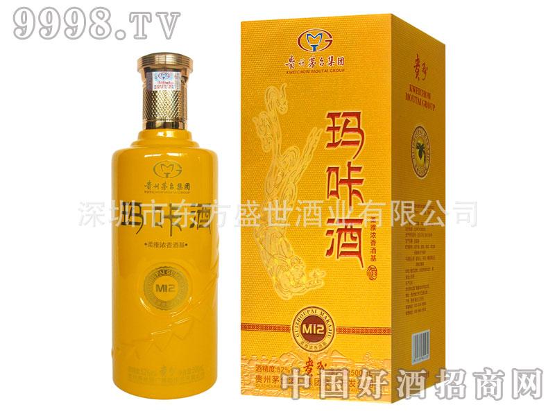 52度贵州茅台玛咔酒(柔雅浓香)