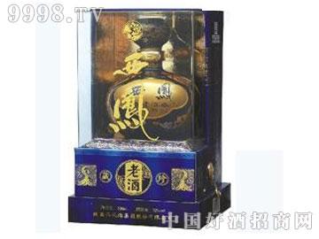 52度西凤老酒珍藏版蓝瓶(凤香型)
