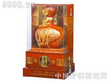 西凤老酒珍藏版红瓶